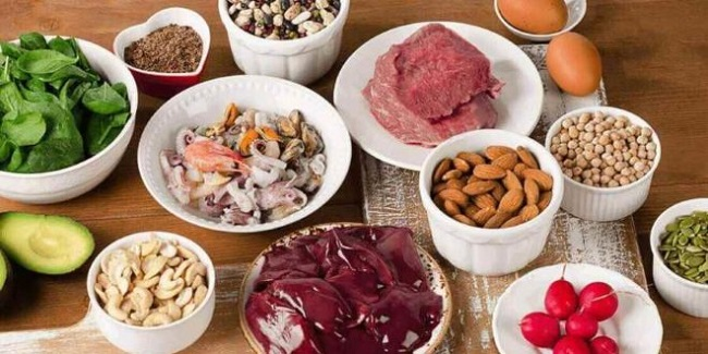 Alimenti che contengono ferro