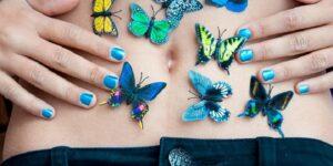 Farfalle Nello Stomaco