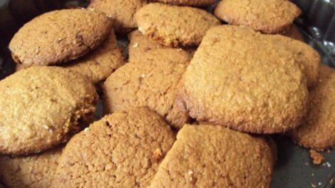 Biscottini con farina integrale
